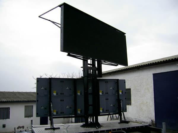 LED kivetítős fal